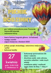 Piknik Rodzinny - Plakat-1